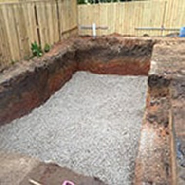 Concrete Pool Marking and Excavation
